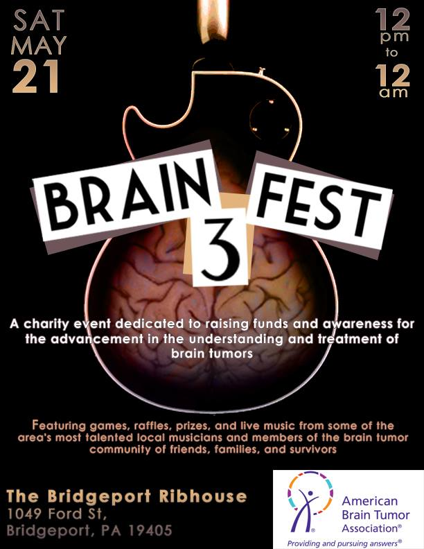 BrainFest to hold festival to raise funds for the American Brain Tumor Association