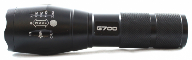 g700 flash light